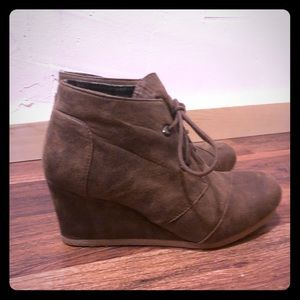 Wedge booties For Sale! Perfect for Fall 🍂🍁